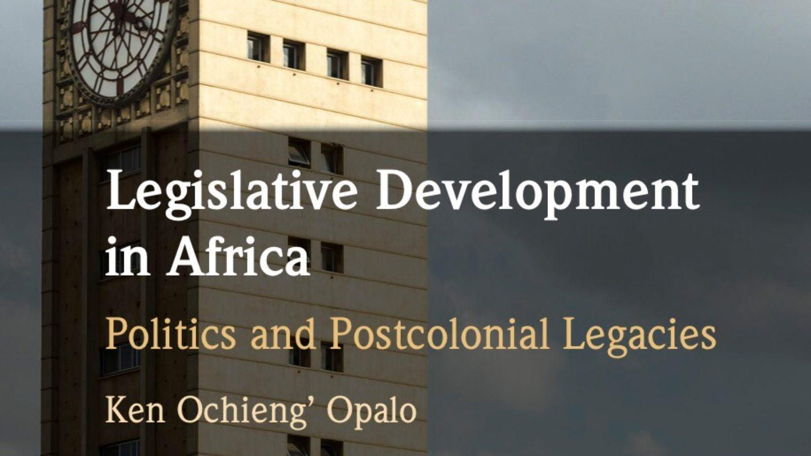 Bookcover for Legislative Development in Africa