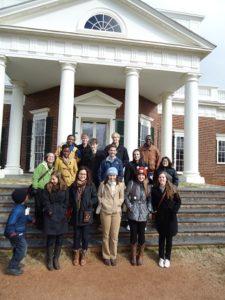 Monticello Spring 2012 AfSP student trip